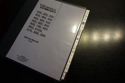 Valtra A75 A85 A95 205 255 305 355 365 405 900 800 700 600 865 Service Manual