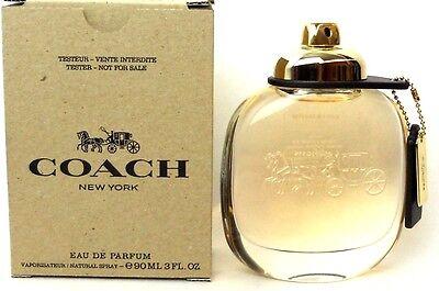 Coach New York By Coach 3 0 Oz   90 Ml Women Perfume Edp Spray Brand New Tester