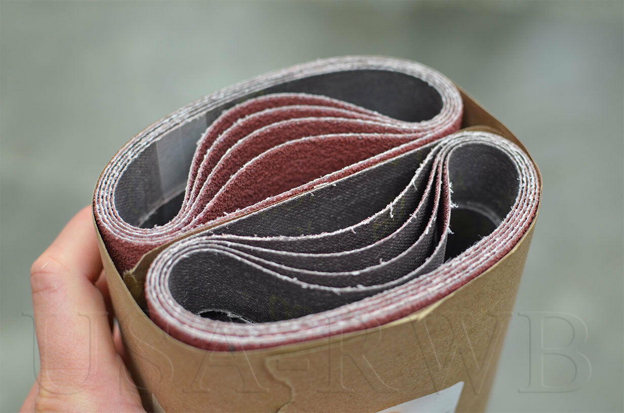 50 3M 984F Cubitron II cloth belts 1-3//16 x 21-1//4