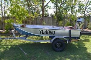 Weston Craft 12 FT Aluminium Tinny 15HP Honda Outboard & trailer Caboolture Caboolture Area Preview