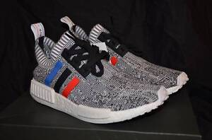 US 8.5 Adidas NMD Primeknit Tri Colour White Leeming Melville Area Preview