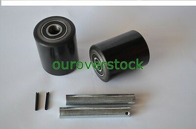 Dayton 4yx97 Pallet Jack Load Wheel Kit