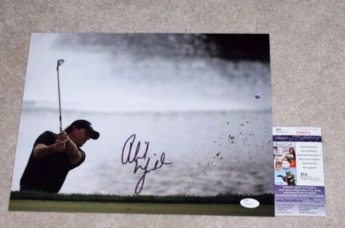 PHIL MICKELSON SIGNED AUTHENTIC MASTERS VICTORY AUGUSTA 11X14 PHOTO C w/ JSA COA