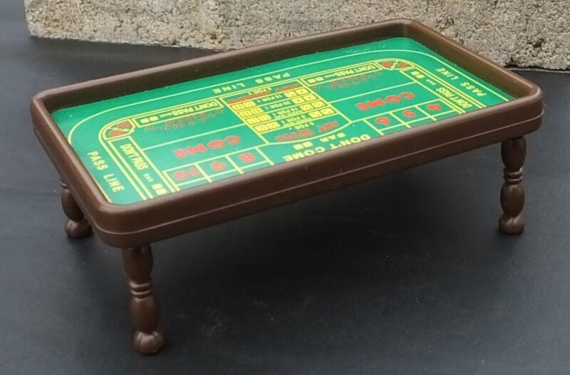 Craps Table Miniature 1/24 Scale G Scale Diorama Accessory Items