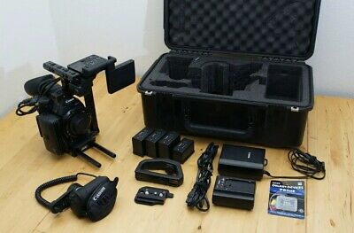 Canon EOS C500 EF Mount Kit with Monitor/XLR Unit, Grip, & ARRI Accessories