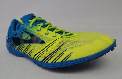 309ad4c1fa47b3 New Men s Brooks Wire 4 Track Spikes - Size 9 - Nightlife Electric -