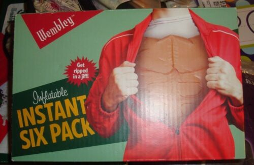 NEW Instant 6 PACK Halloween Costume Inflatable WEMBLEY SEXY Man