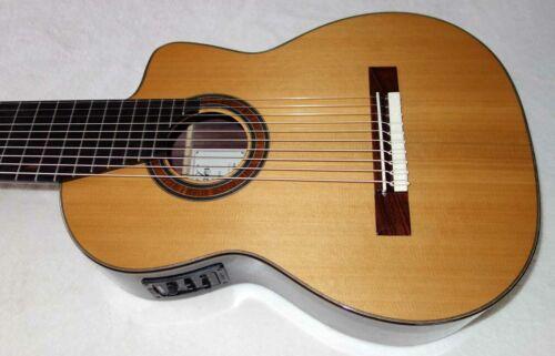 Bartolex SLC10CEL Classical 10-String Harp Guitar, Cedar Top, w/Pickup TKL Case!