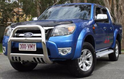 2010 Ford Ranger Ute 3.0L TURBO DIESEL 4X4 REGO AND RWC