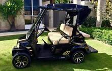 Tomberlin EMERGE Golf Cart 2014 Model 4 Seat with Rear Flip Seat Hope Island Gold Coast North Preview