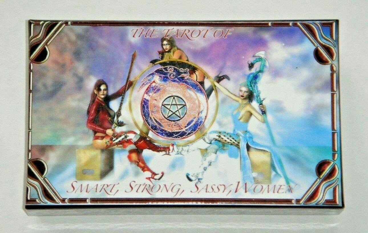 Tarot Of Smart, Strong, Sassy Women. OOP Ltd Number 78-Card Indie Deck. MINT Bag - $119.00