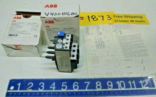 2 pcs. ABB # TA25DU Electrical Thermal Overload Relay  Freeship