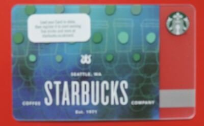 STARBUCKS UK CUP SCALES  2018 CARD NO VALUE COLLECTORS ITEM