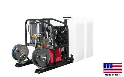 Pressure Washer Commercial - Hot Cold Steam - 3.5 Gpm - 4000 Psi - Honda Skid