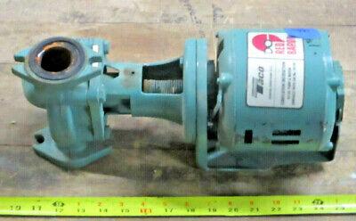 Taco 110-387 Hot Water Circulation Pump 115v 1725 Rpm 112 Hp