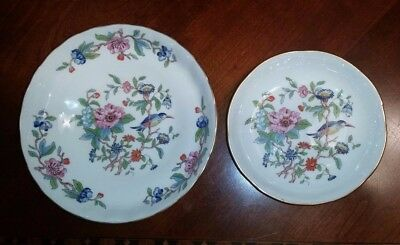 Aynsley Pembroke Open Candy Dish and Coaster LOT OF 2  - Open Candy Dish