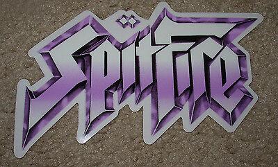 (SPITFIRE Rock N Roll Skate Sticker 7 X 4.25
