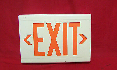 Dual-lite Lxurwe120 Volts Ac Powered Led Exit Sign