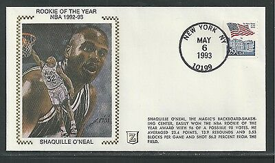 1993 ROOKIE OF THE YEAR NBA, SHAQUILLE O'NEAL BASKETBALL