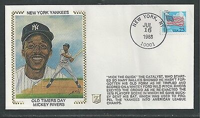 NEW YORK YANKEES, OLD TIMERS DAY, MICKEY RIVERS, BASEBALL, SPORTS,