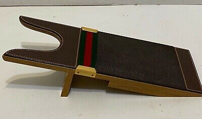 VINTAGE GUCCI BOOT JACK - BOOT PULL - helps in the removal of Boots - Rare find