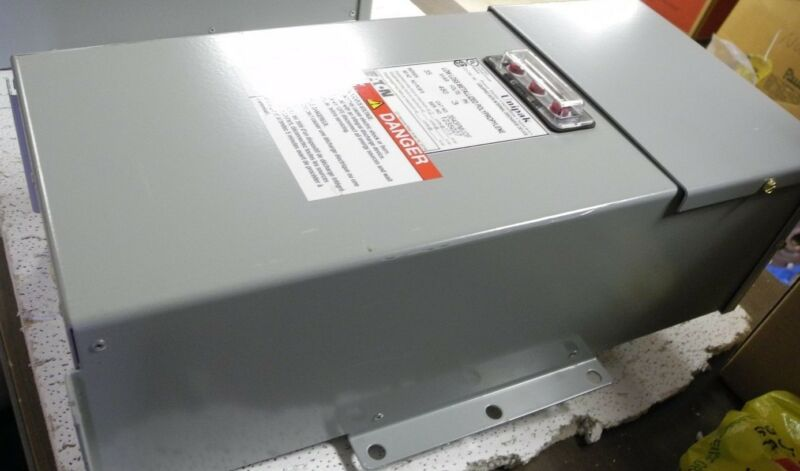Eaton Unipak 3543PMUDF Capacitor, 35 KVAR 480V 3 PH. 60HZ No PCB