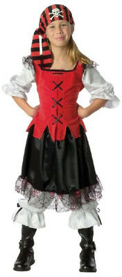 Pirate Girls Kids Buccaneer Child Costume Swashbuckler Outfit Caribbean - Pirate Outfits