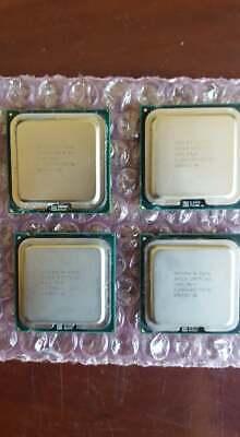 Lot of 4 Intel Core 2 Duo E8600 3.33 GHz LGA775 Socket CPU Processor SLB9L