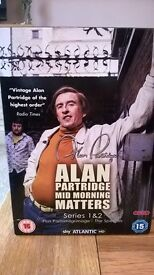 Alan Partridge DVD Mid Morning Matters as shown on Sky Atlantic Series 1&2 plus The Specials £5