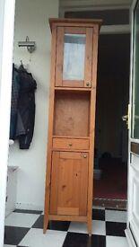 Narrow cabinet unit