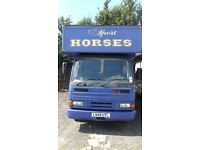 HORSEBOX - 7.5t DAF LORRY - 2 horses £4,000