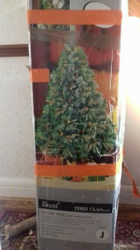 TESCO FINEST 7FT XMAS TREE