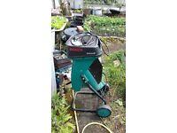 Bosch electric garden waste shredder
