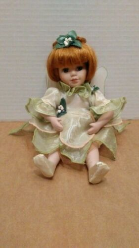 """Geppeddo Fairy Tale Collection Porcelain Doll 9"""""""