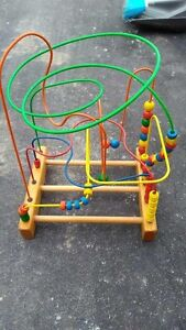 Wire and Bead Maze Toy