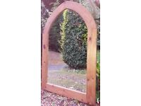 Lovely arched window style mirror £45 ono
