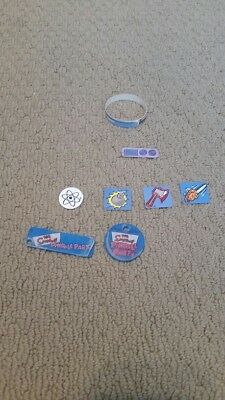 STERN - SIMPSONS PINBALL PARTY - PINBALL BAG OF MISC. GOODIES - MINT CONDITION