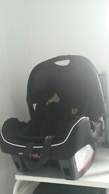 Ferrari Black Beone SP Group 0-Plus Car Seat