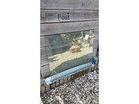 FREE Two matching glass doors