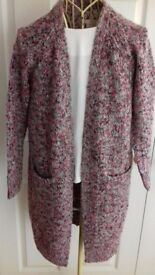 Long knitted cardigan/coat