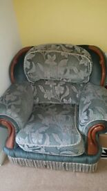 Beautiful old armchair for free