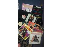Vinyl records x 15 varied including Madonna, Des O'Connor, Salt 'n' Pepa etc