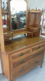 Vintage Retro Chest of Drawers with mirror