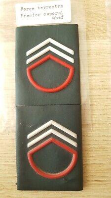 Belgium Service Armée de terre Premier Caporal chef