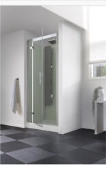 CA183A Kinedo Horizon Recess Watertight Pivot Door Shower Cubicle / Pod 1200mm x 800mm