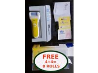 £7 PediHeal Pedicure for Hard, Dry & Cracked Skin Removing + 8 Buffing Rollers