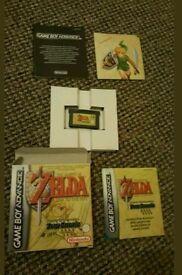 GAMEBOY ADVANCE Zelda Four Swords in very good condition!!