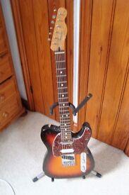 Fender Nashville Telecaster guitar.