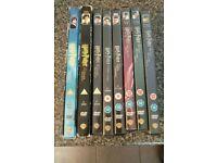 Harry Potter DVDs full set