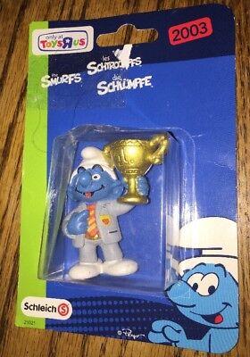 TRU Toys R Us 2003 Smurfs Manager Trophy Schleich Schlumpfe Peyo 21021 (Toy Trophies)